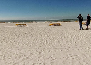 St Pete Beach in St Petersburg, Florida USA