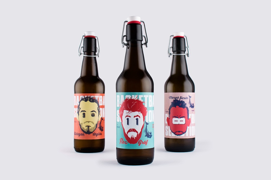 Basketball Craft Beer Selection On Packaging Of The World Creative