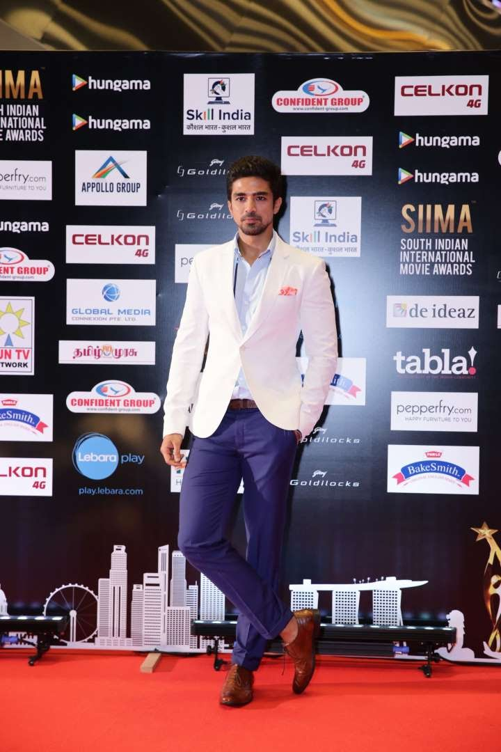 Bollywood actor Saqib Saleem spotted at SIIMA