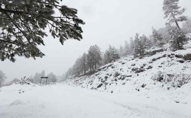 Nieve, temperatura