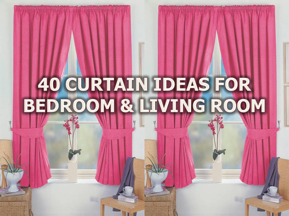 40 CURTAIN IDEAS FOR LIVING ROOM AND BEDROOM - Bahay OFW