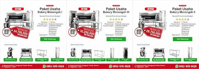 Paket Usaha Bakery Budget Murah