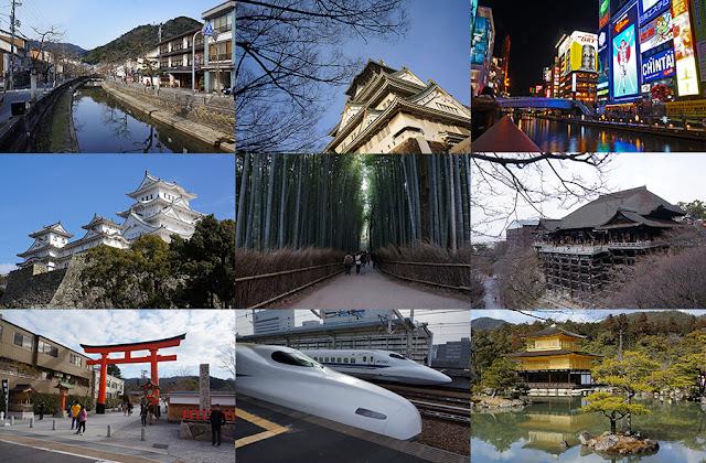 พาเที่ยวญี่ปุ่นด้วยตัวเองแบบง่ายๆโซน โอซาก้า เกียวโต พร้อมวิธีเดินทางและค่าใช้จ่าย
