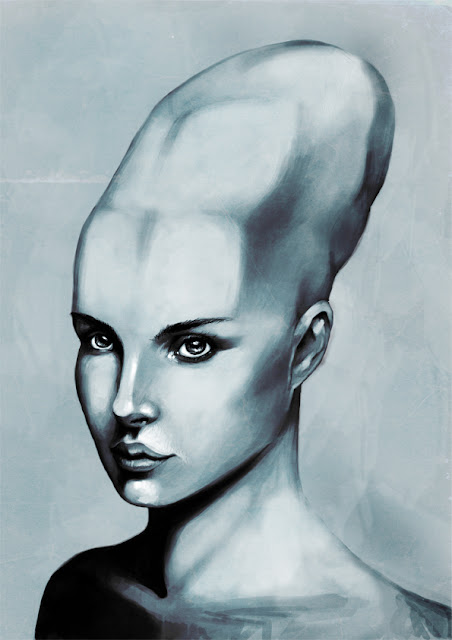 What did the Aliens in Antarctica look like with elongated skulls.