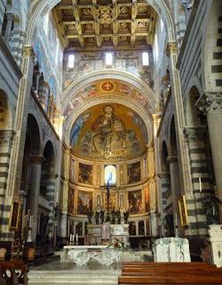 Catedral o Duomo de Santa Maria de Pisa.