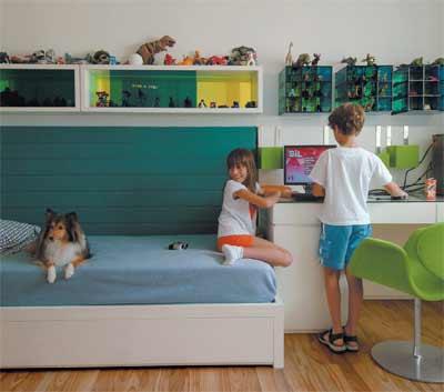 Como organizar los juguetes de los ni os en el dormitorio - Ideas para guardar juguetes en los dormitorio ...