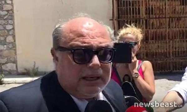 «Ο Τσοχατζόπουλος δεν βγήκε για να κάνει διακοπές, βρίσκεται σε πολύ άθλια κατάσταση» (βιντεο)