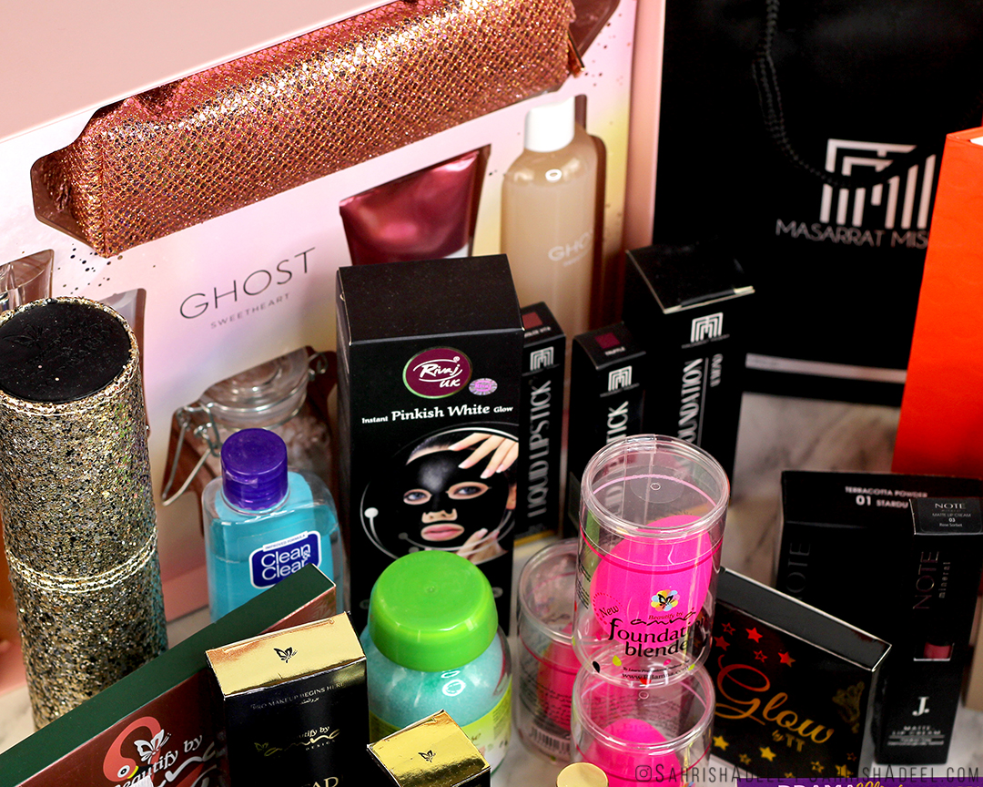 Beautify by Amna, Zay Beauty, Whimsy Beauty, Junaid Jamshed, Masarrat Misbah, Soap & Glory, Ghost & more - Pakistan Haul