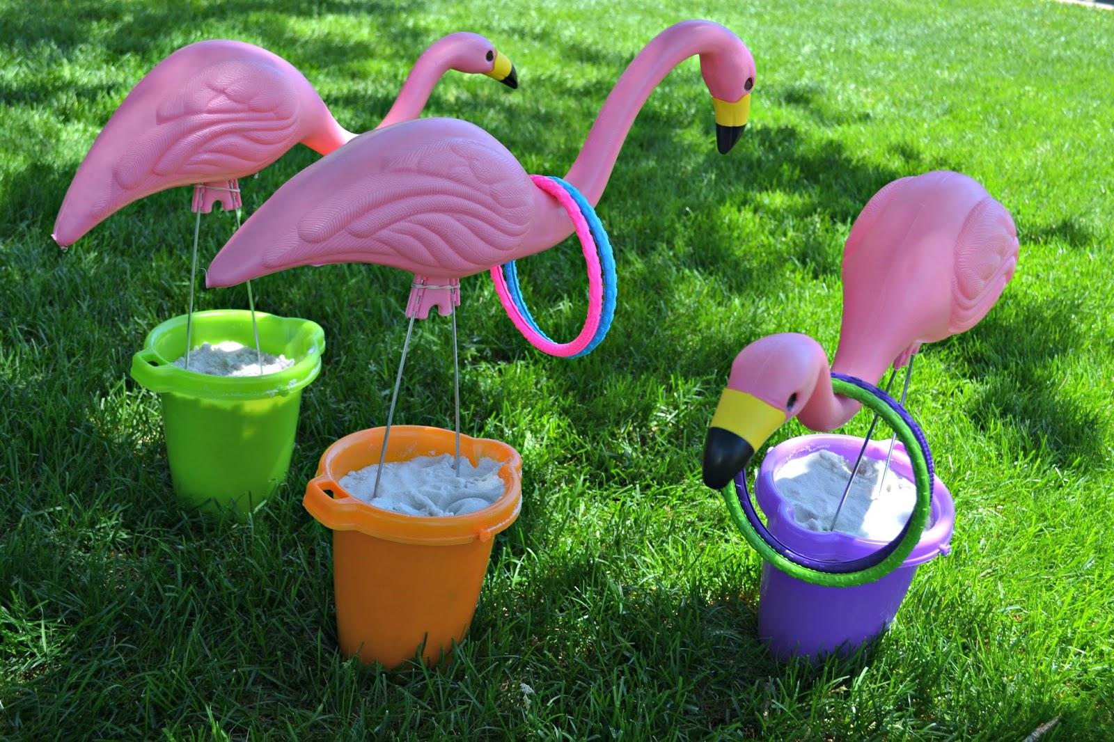 Ring toss games for kids - Summertime Flamingo Ring Toss Flamingo Ring Toss Diy Flamingo Ring Toss Ring Toss