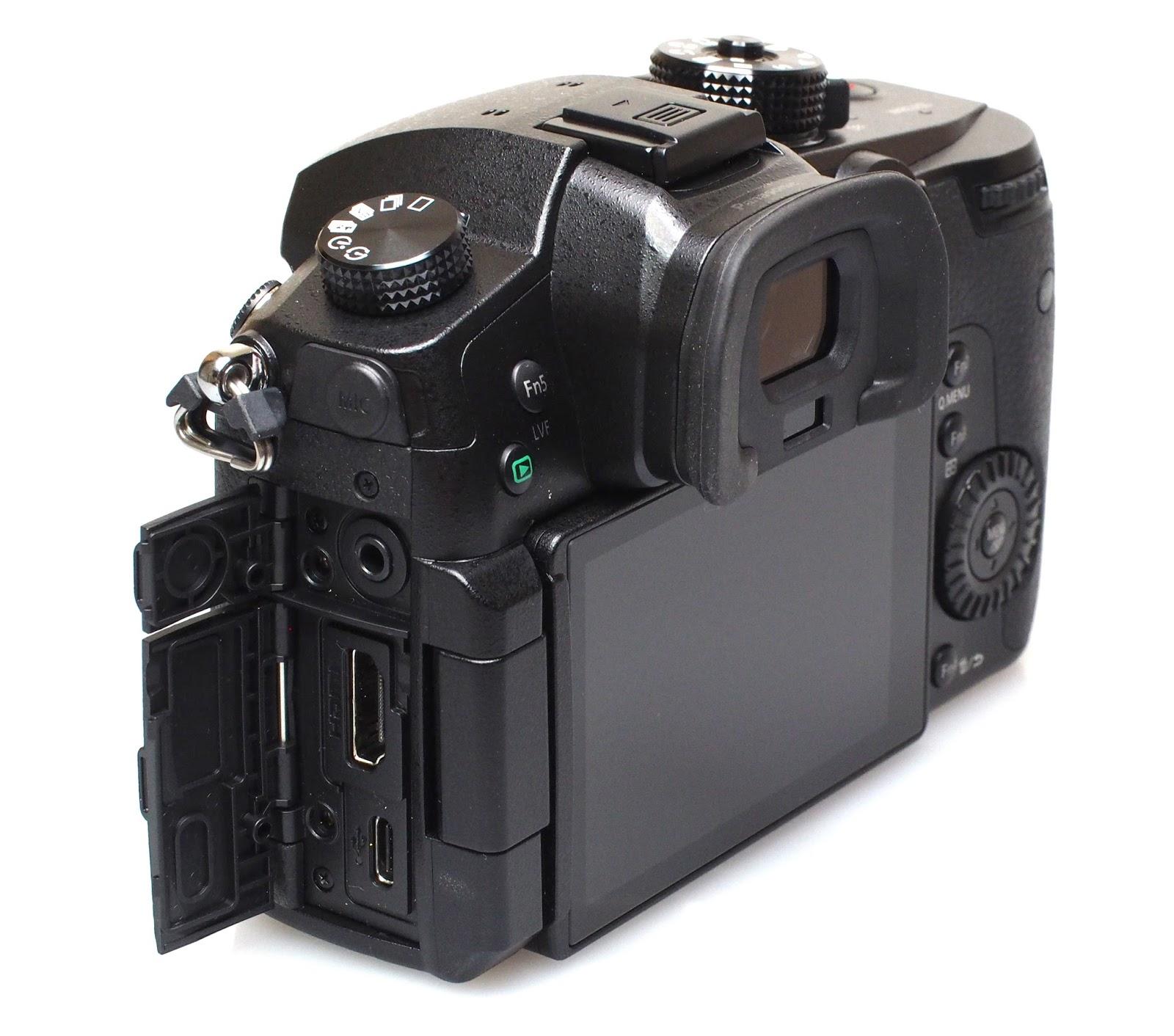 Разъемы Panasonic Lumix GH5