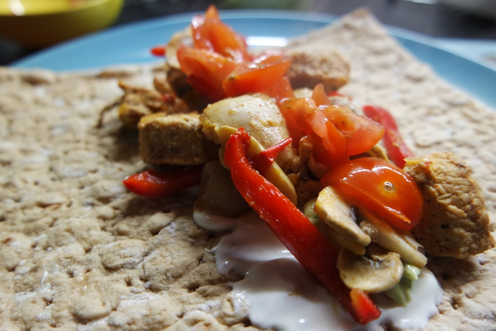 Using Greek Yoghurt in Meals Healthier Fajitas Sour Cream