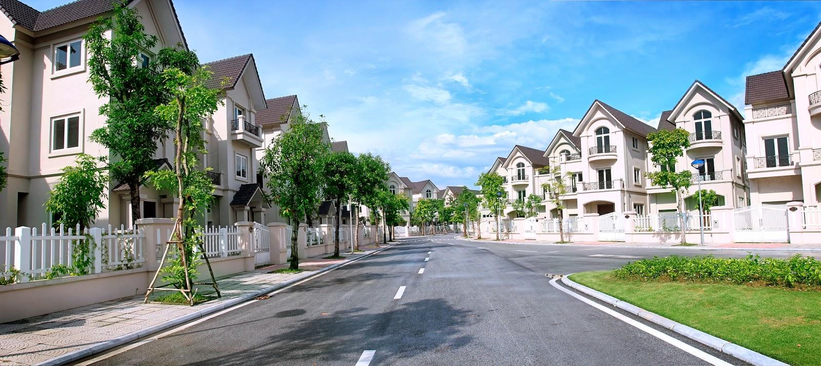 Những dự án biệt thự đáng lựa chọn để sống nhất tại Hà Nội