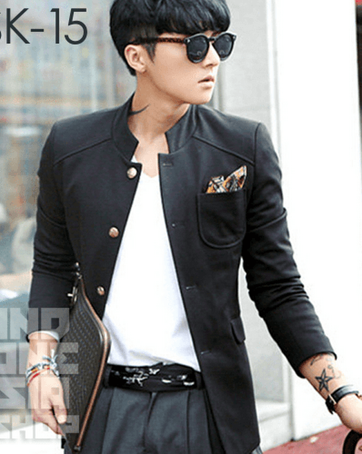 indonesia shop sk15 black korean blazer style inashop