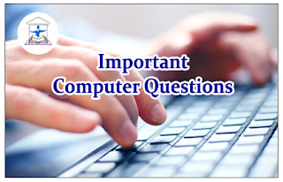 Important Computer Questions for LIC AAO and all Upcoming Exams