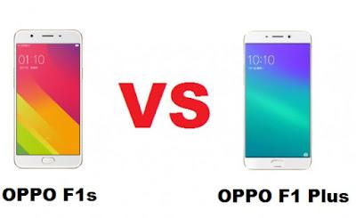 Perbedaan Oppo F1s dan Oppo F1 Plus
