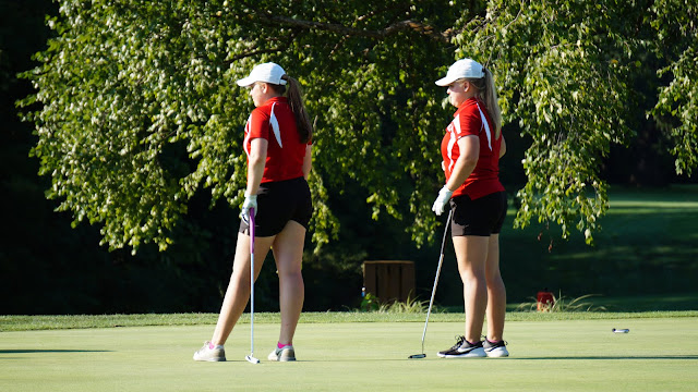 Lady Redbirds Golf Score Big Wins, Metamora Herald