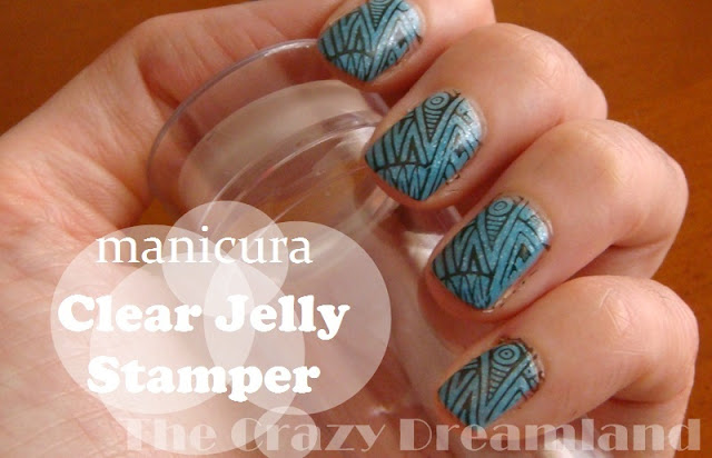 manicura clear jelly stamper