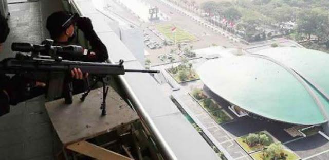 Pekerja di Gedung DPR Serba Resah Ketakutan, Peluru Nyasar Bisa Datang Tiba-tiba