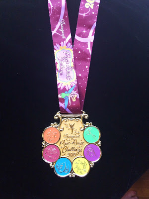 2015 Pixie Dust Challenge medal