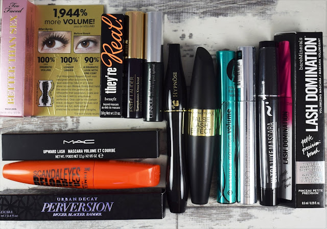 bundle of mascaras