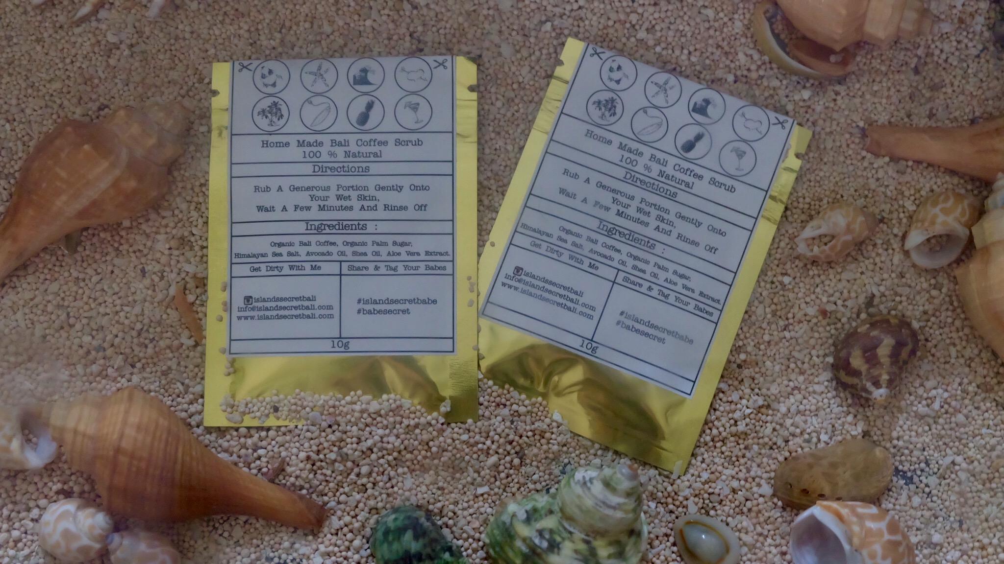 Review: Island Secret Bali Face and Body Scrub