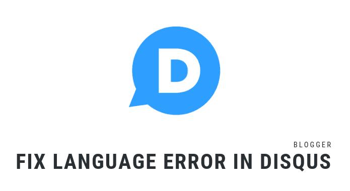 disqus language change