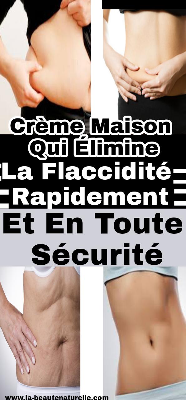 Crème maison qui élimine la flaccidité rapidement et en toute sécurité
