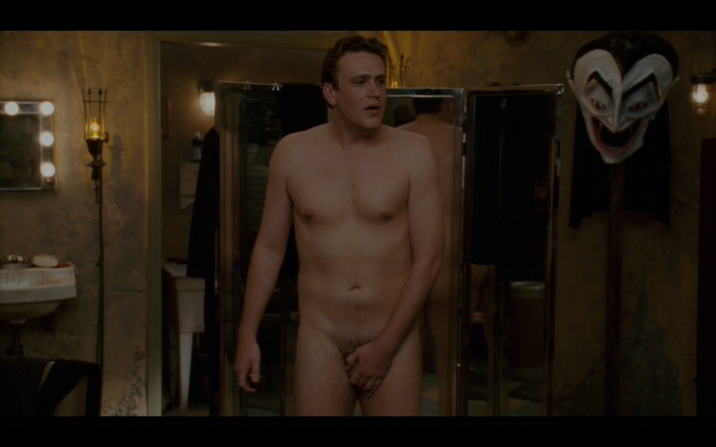 Actor who stripped down: Jason Segel Why they're fully nude: The mistaken  belief that his girlfriend is in the mood for love. Men have been dumped  plenty of ...
