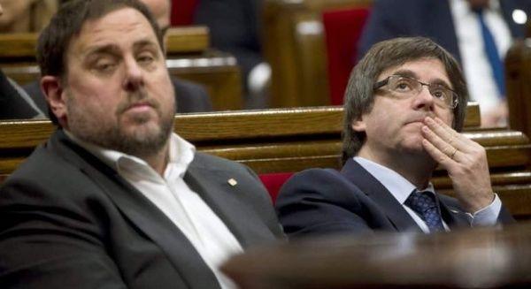 Justicia de España mantiene en prisión a líderes de Cataluña