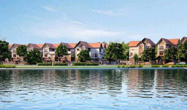 Hồ điều hòa tại Chung Cư An Bình City