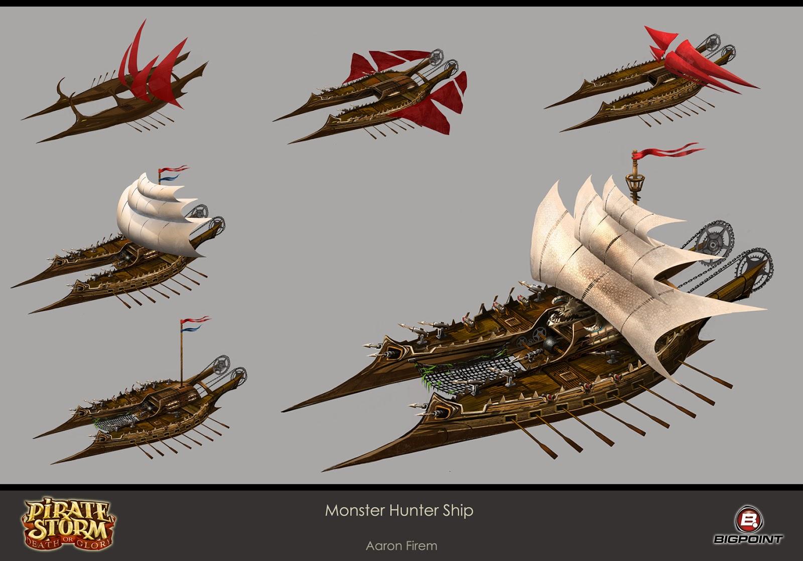 Art Concept Pirate Ship