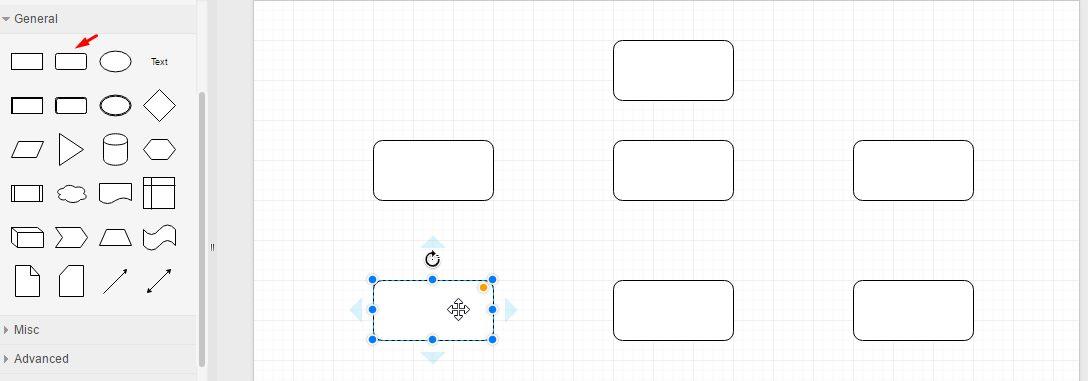 cara membuat struktur organisasi online - grafis