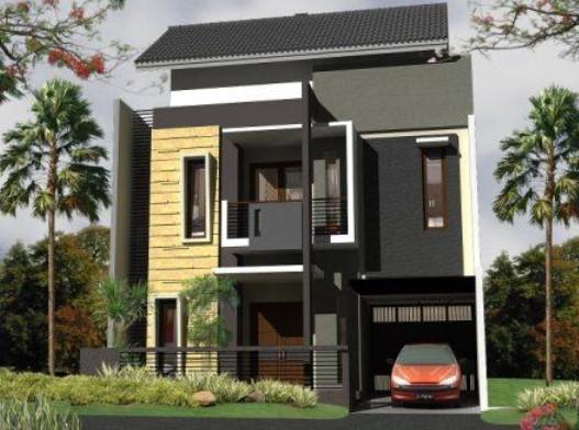 Model Rumah Minimalis 2 Lantai Type 36 Tampak Depan - http ...