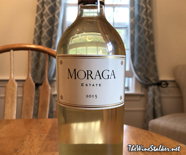 Moraga Estate White Wine 2015