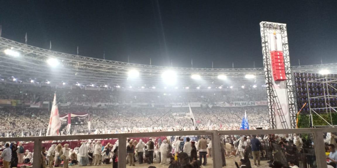 Jutaan Massa Kampanye Akbar 02, Kubu Sebelah Sibuk Cari Kesalahan?