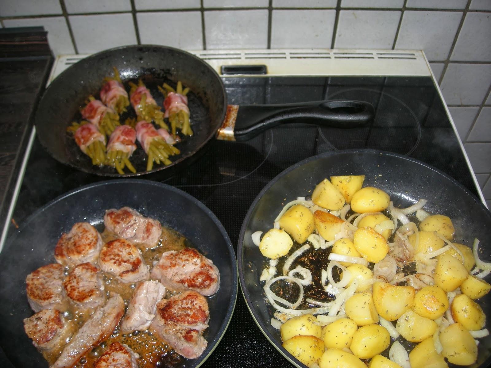 kochen filet pfanne