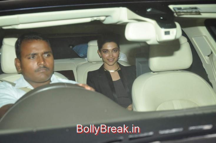 Deepika Padukone glams it up at the screening of her movie, Ileana D Cruz Dia Mirza Hot Pics From Piku Screening