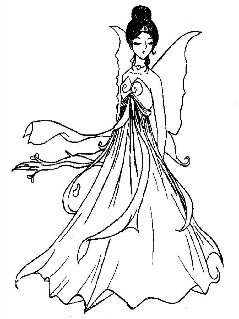 Princess Coloring Pages Barbie Belle