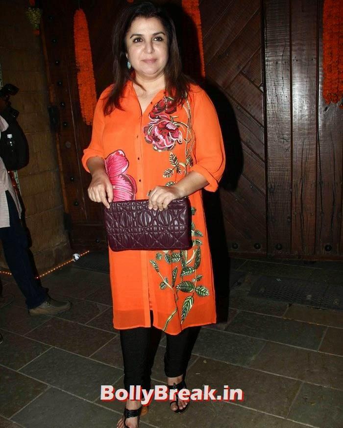 Farah Khan, Photos from Amitabh Bachchan's Diwali Bash 2014