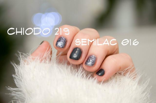 grafit na dłoniach jak wygląda Semilac 016?