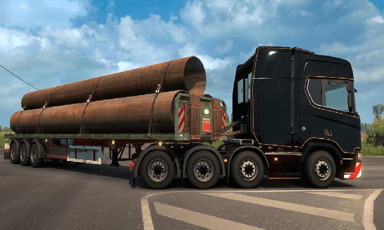 تحميل لعبة Euro Truck Simulator 2 مع التحديثات للكمبيوتر