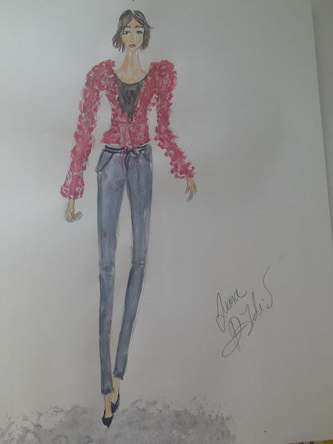 #fashionillustrationoftheday #fashion #art
