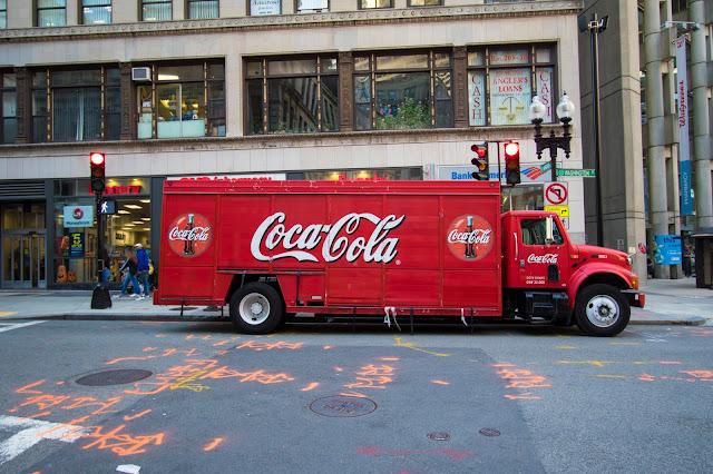 Camion Coca Cola Boston