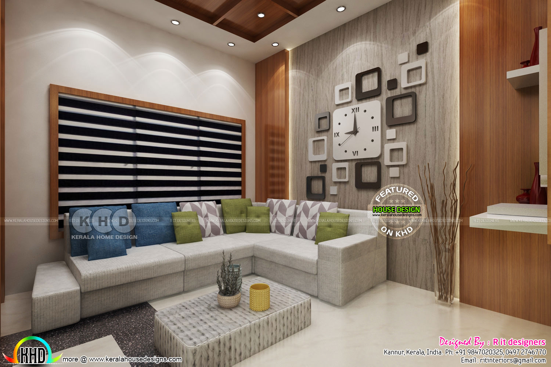 High quality modern interior designs - Kerala home design ... on Modern House Ideas Interior  id=40657