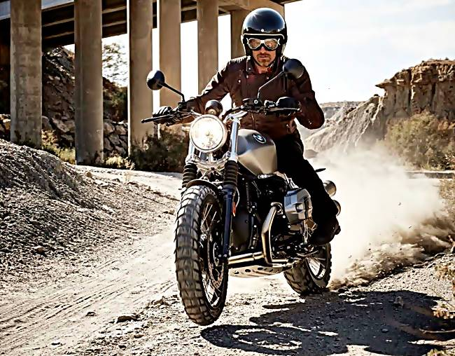 The New BMW R Nine T Scrambler