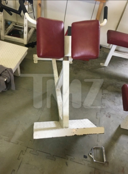 Tupac Workout Bench For Sale Starting At 100k