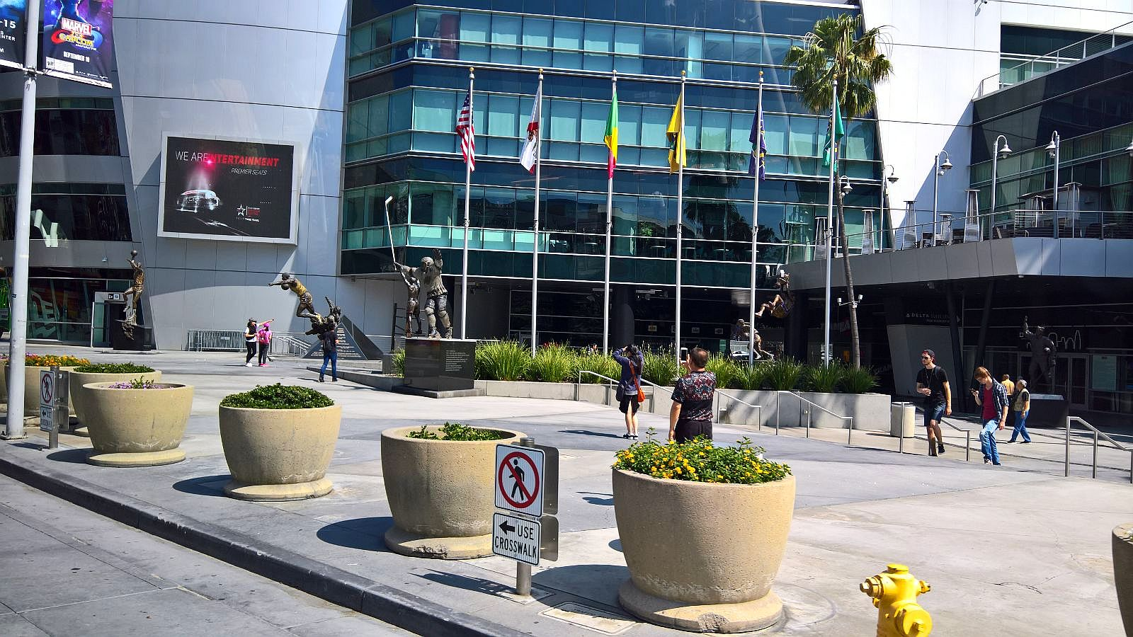 Los Angeles urheilu sport jäähalli stadion Mallaspulla matkakertomus