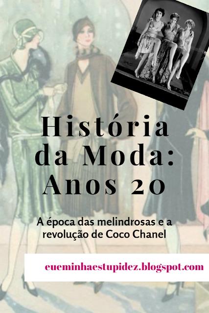 historia da moda anos 20