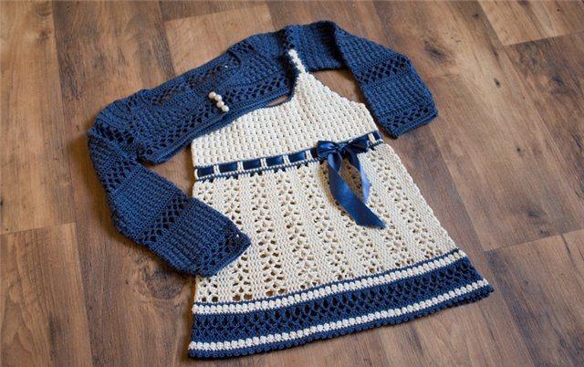 Vestido Infantil Sobrecuerpo Patron