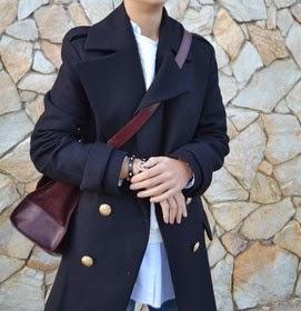4 maneras de llevar... un abrigo marinero